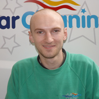 Meet the team mateusz, all-star-cleaning cambridge, window cleaners