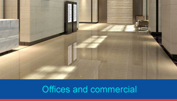 offices and commercial cleaning